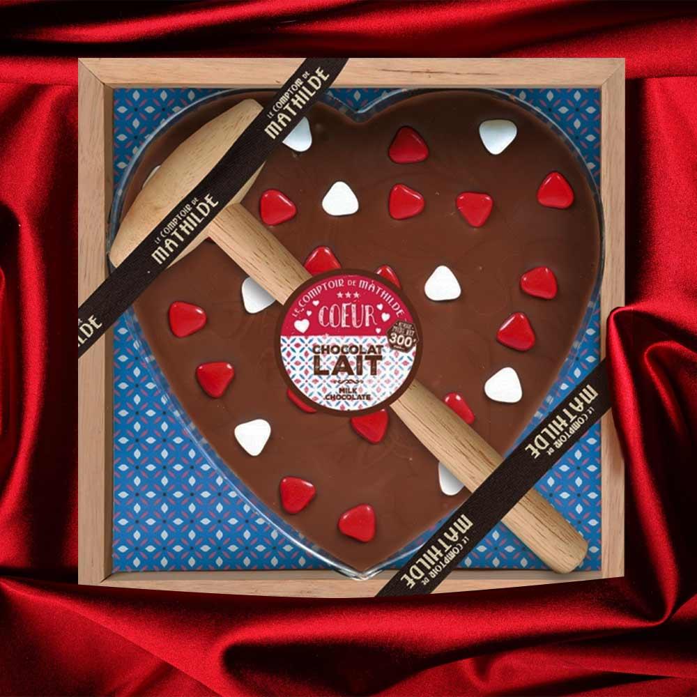 Chocolade Hart met Hamer | MegaGadgets