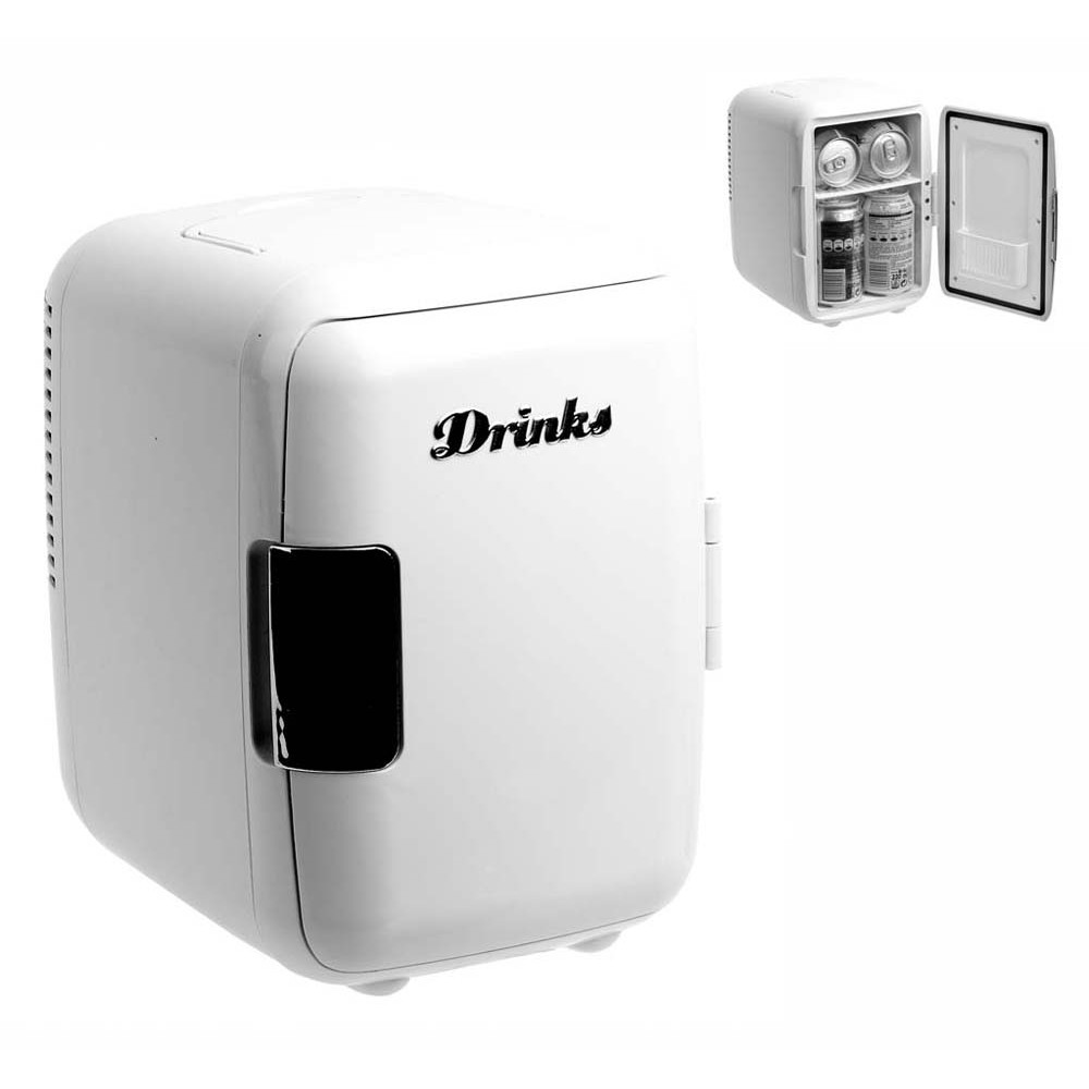 Mini retro koelkast, dit neem je overal mee!