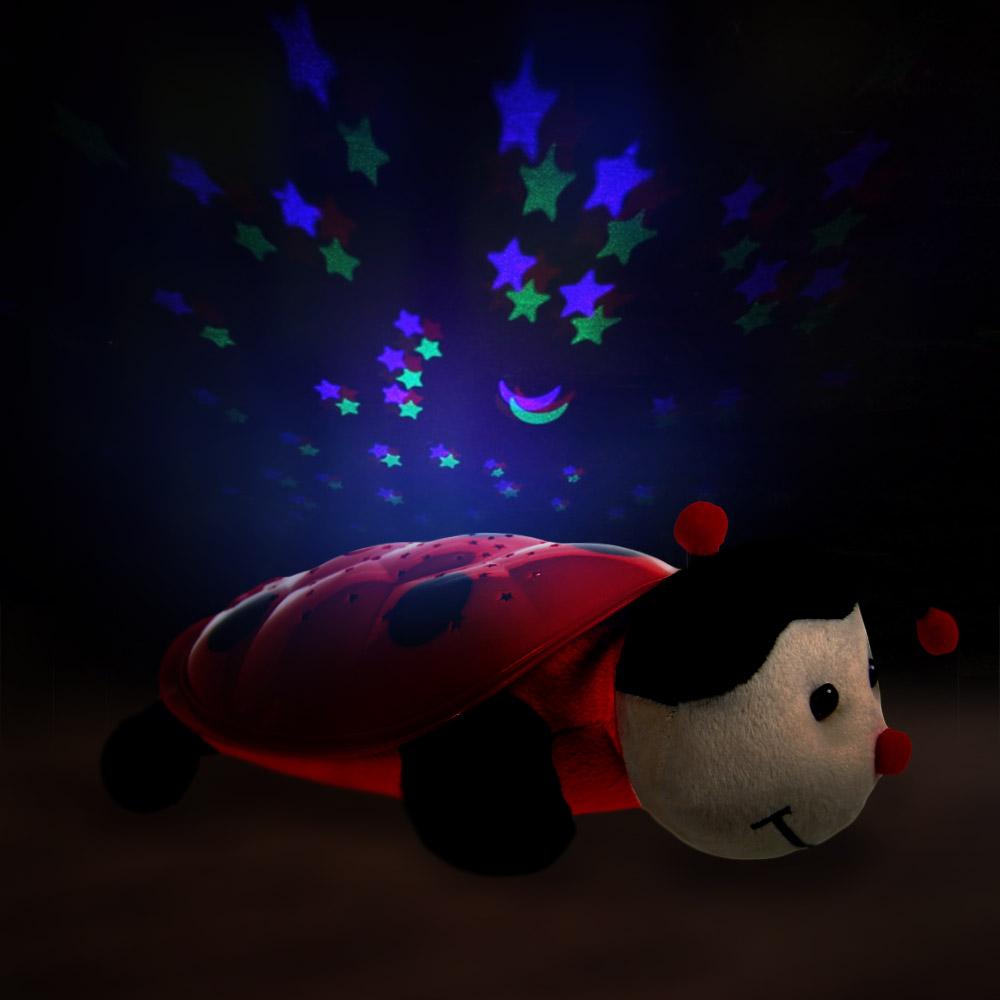 Nachtlampje Sterrenhemel Lieveheersbeestje | MegaGadgets