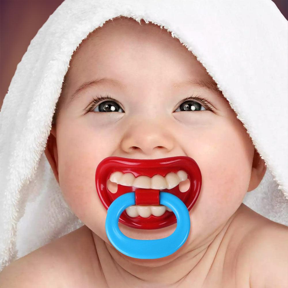 Funny Fopspeen tanden