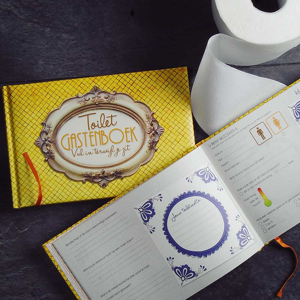 Toilet Gastenboek | Megagadgets