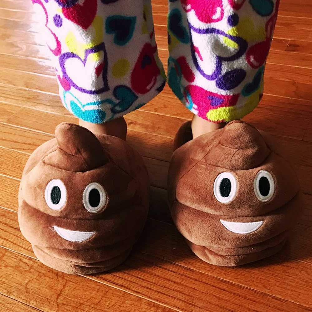 Poo Slippers - Large