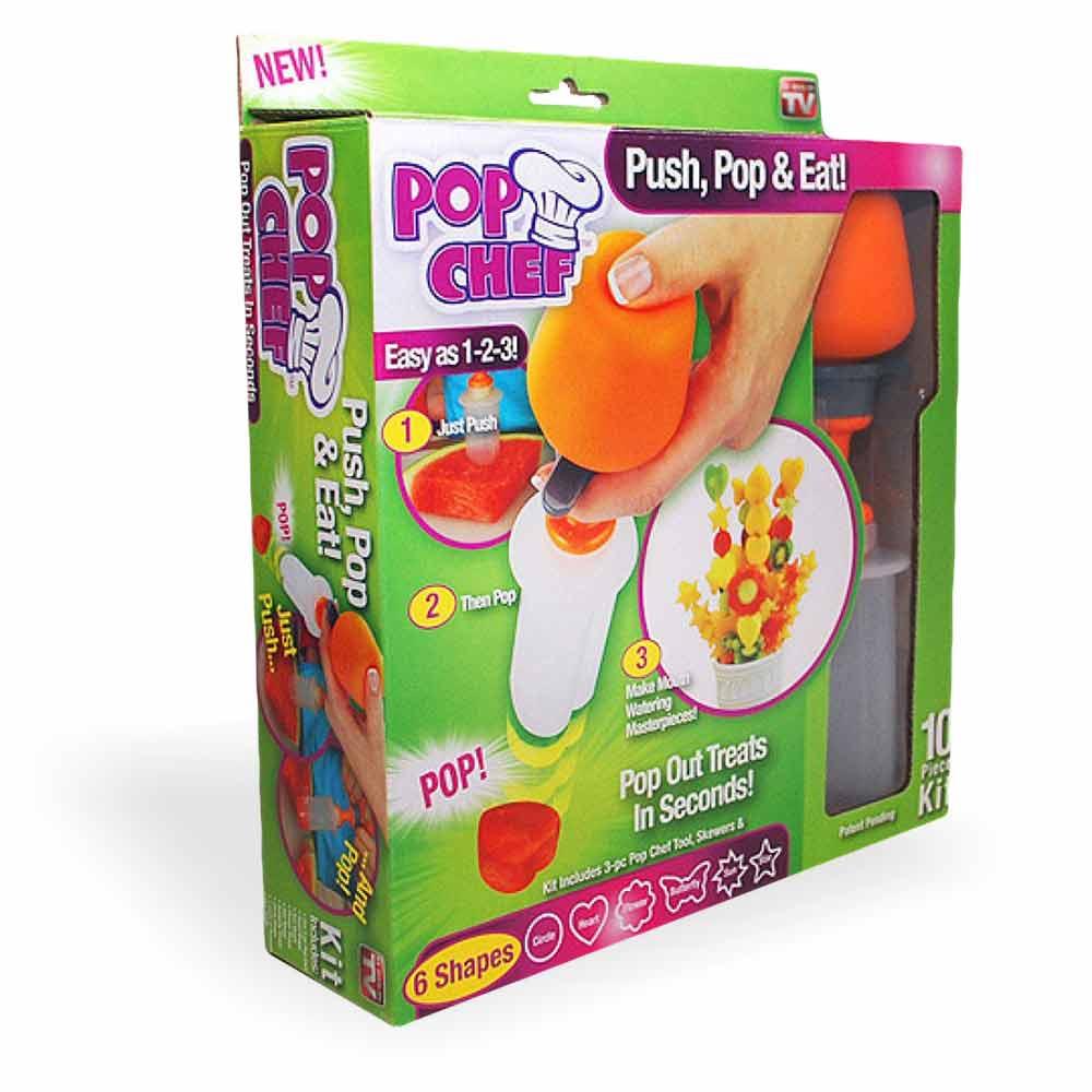 Pop chef fruit decoratie maker