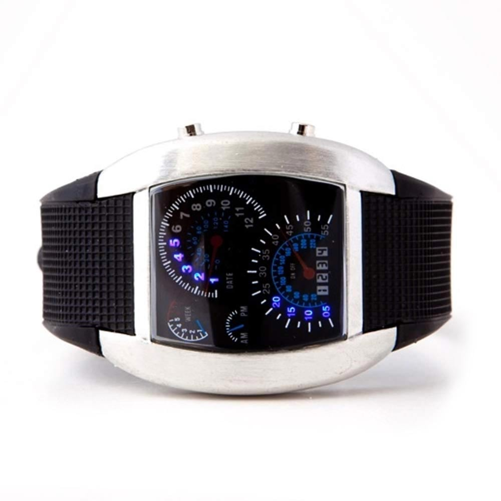 REV Watch horloge met dashboard design