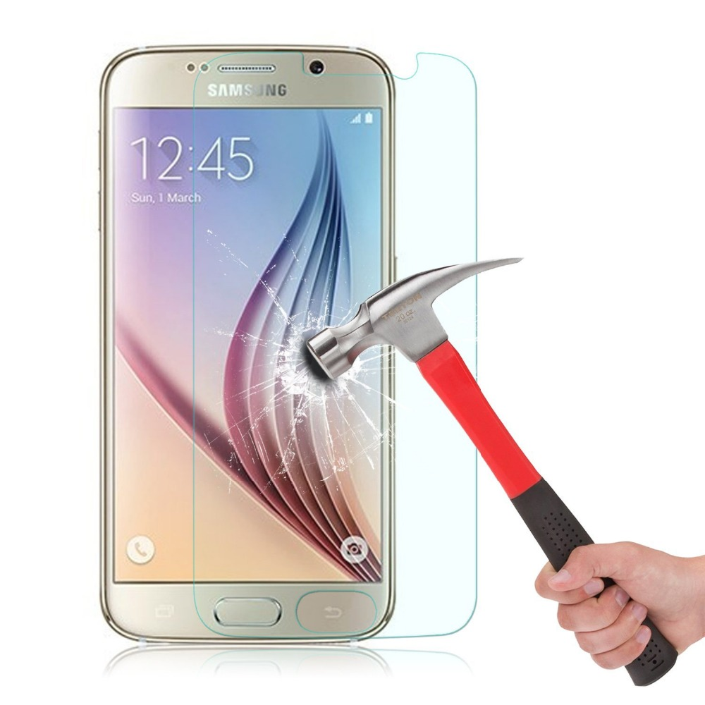Tempered Glass Screen Protector - Samsung S7, Phone 7 | MegaGadgets