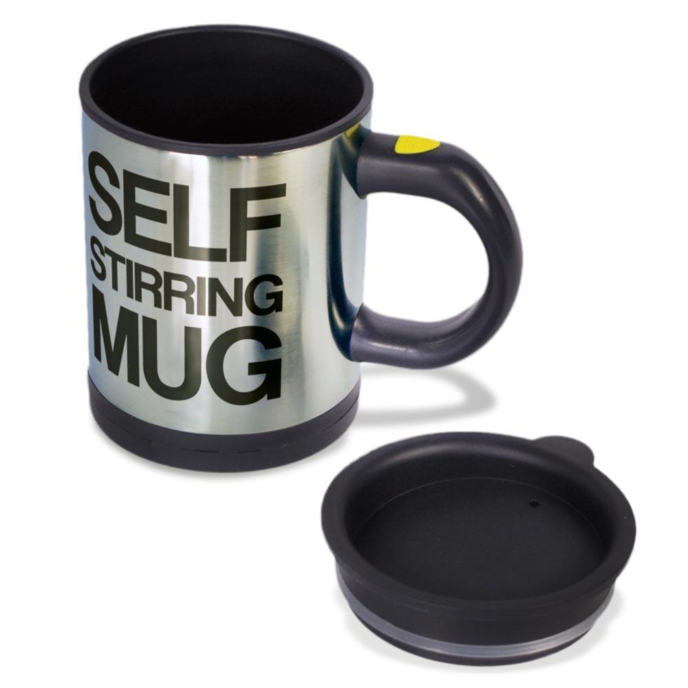 Self Stirring Mug, beker die zelf roert