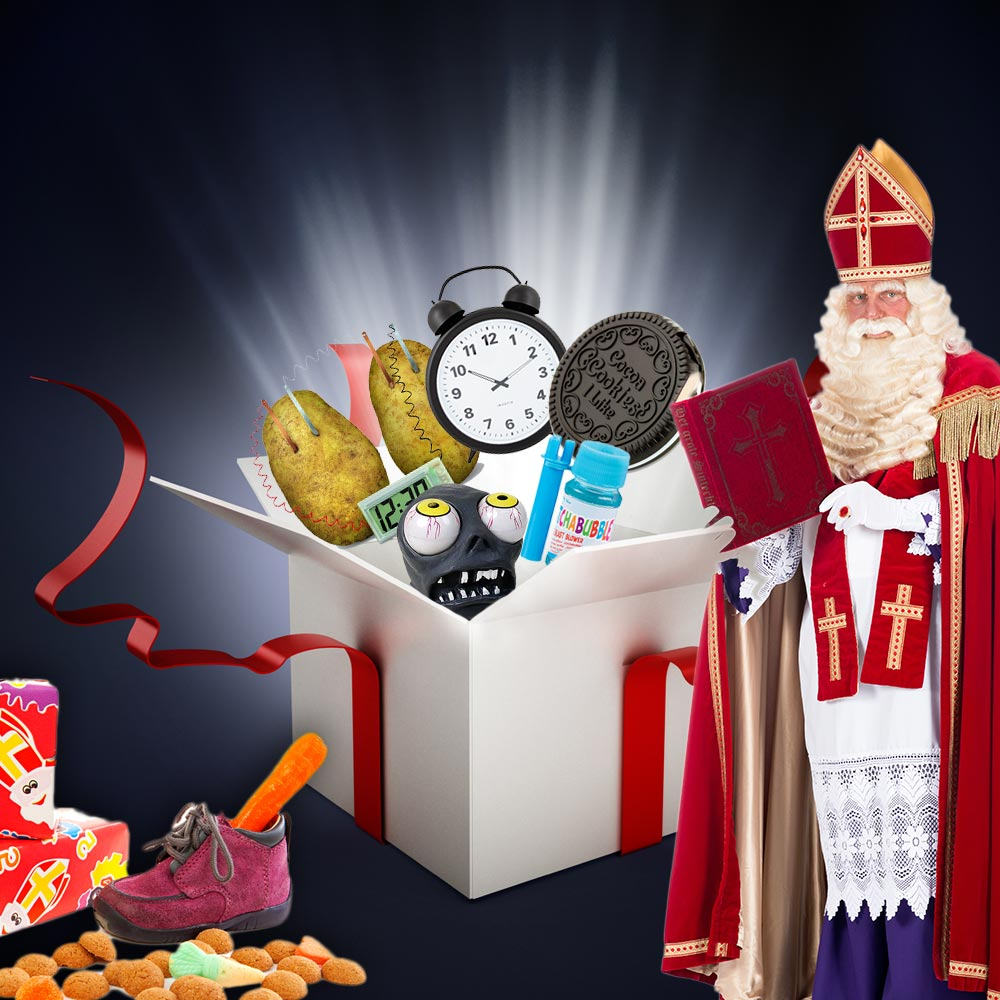 Sinterklaas cadeaubox | MegaGagets