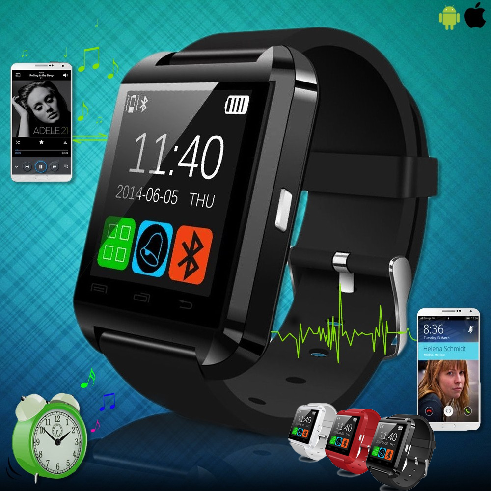 Smartwatch U8 Original - Wit