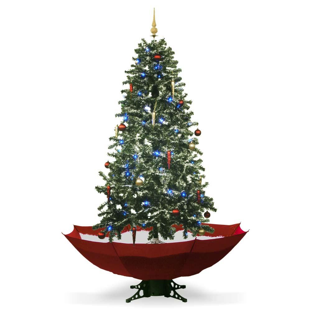 Haal een witte kerst in huis met de Sneeuwende Kerstboom