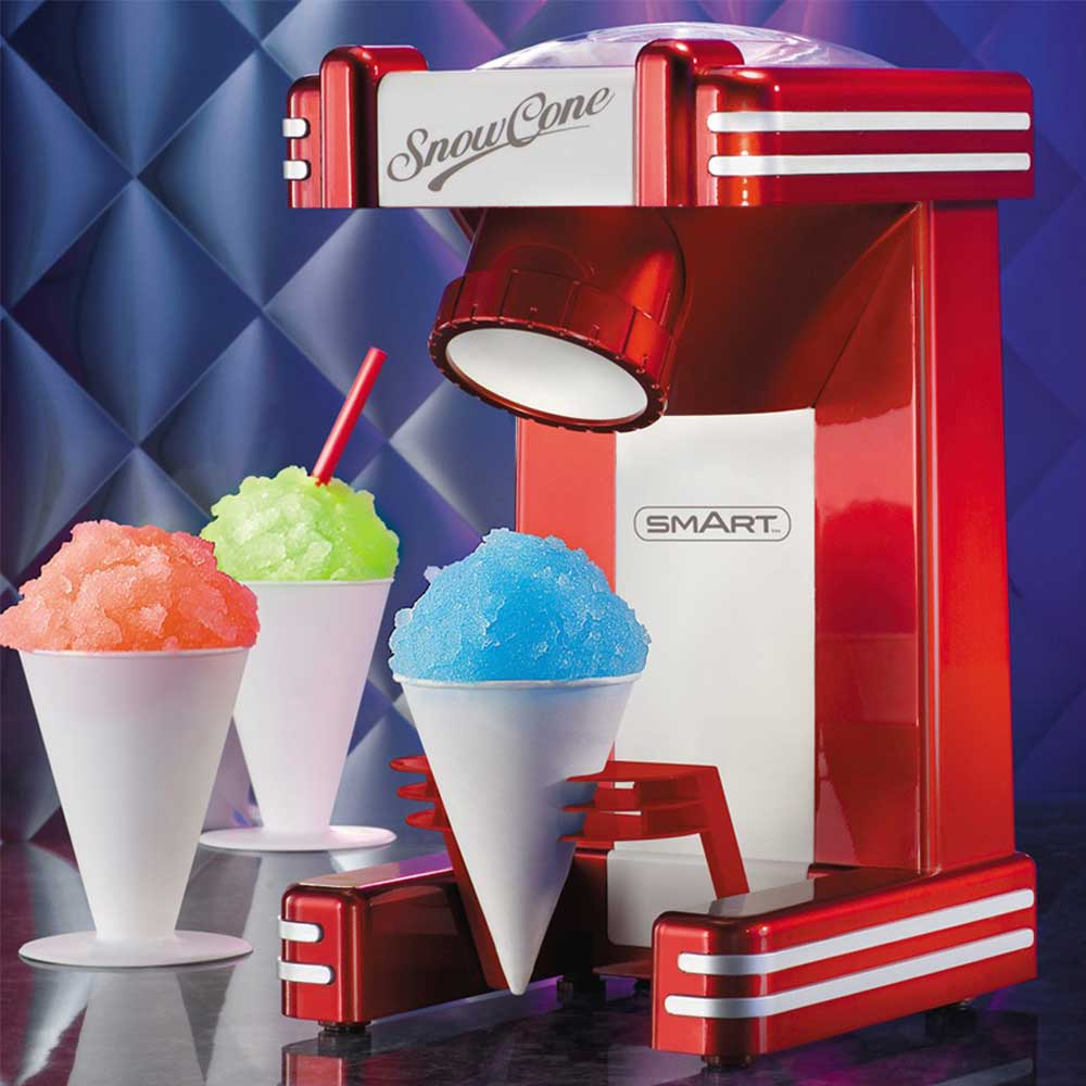 Snow cone schaafijsmachine - retro