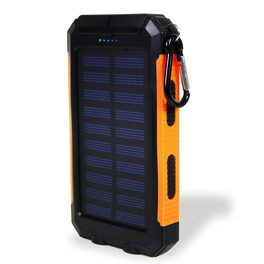 super krachtige 10.000 mAh solar charger