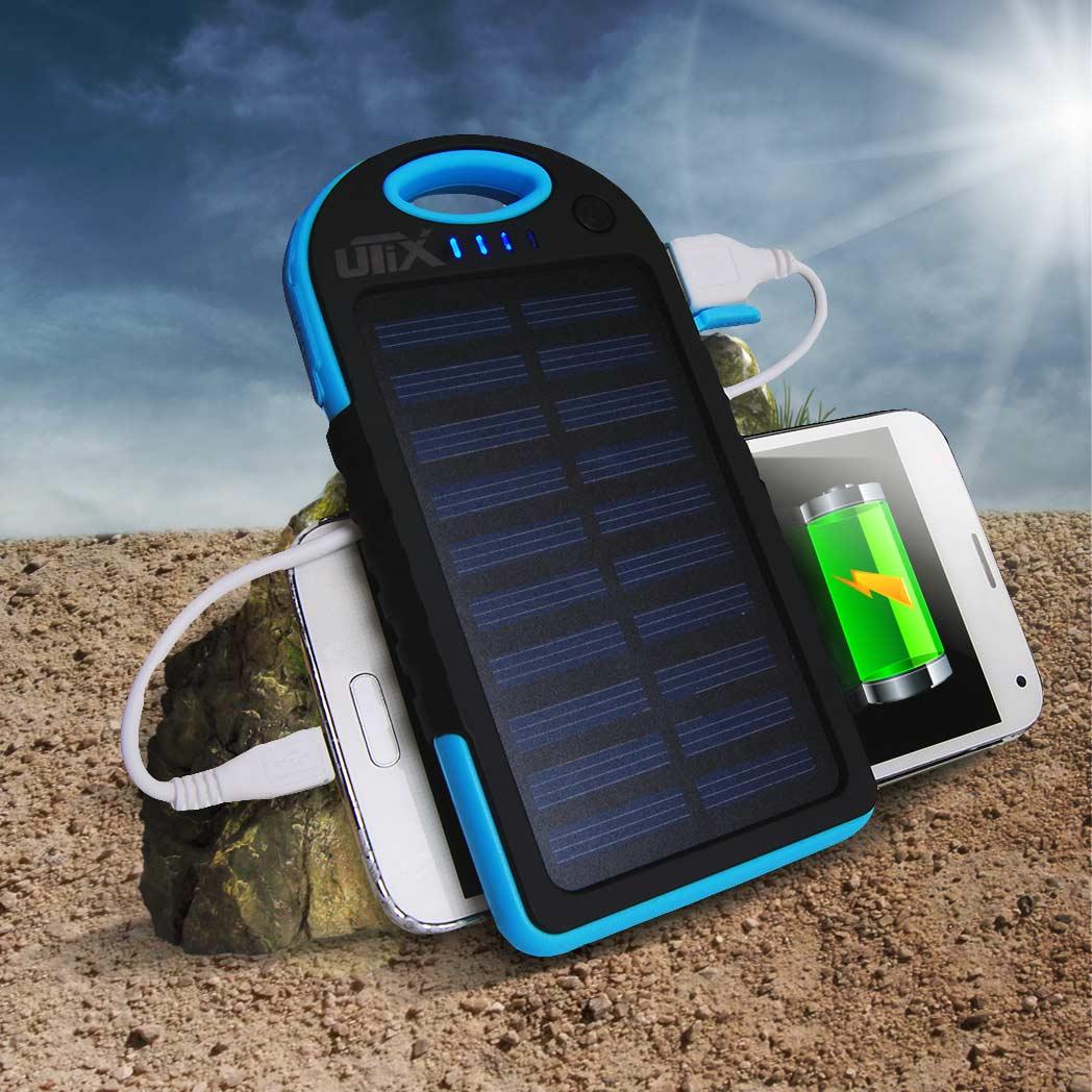 Solar Charger 5000mAh | MegaGadgets.nl