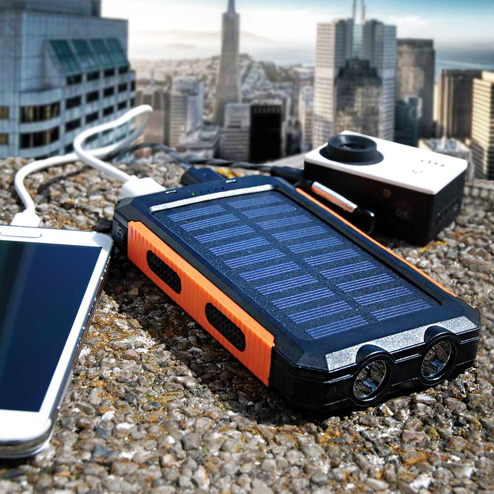 Solar Powerbank | MegaGadgets