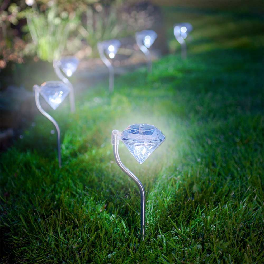 Diamond solar light | megagadgets