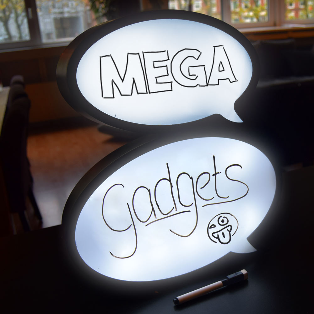 Speech Bubble Lightbox - MegaGadgets