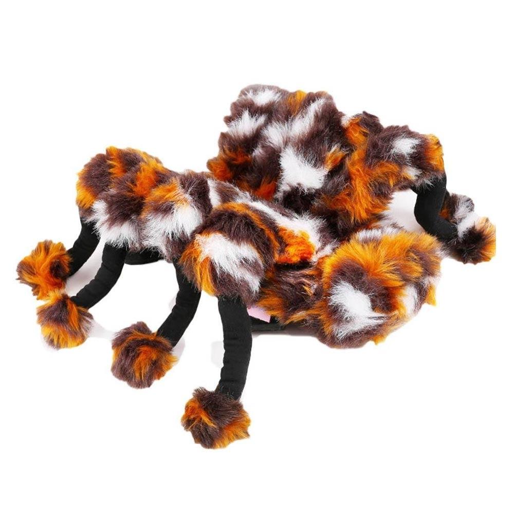 Schrik iedereen de stuipen op 't lijf met dit Spinnen Honden Kostuum!