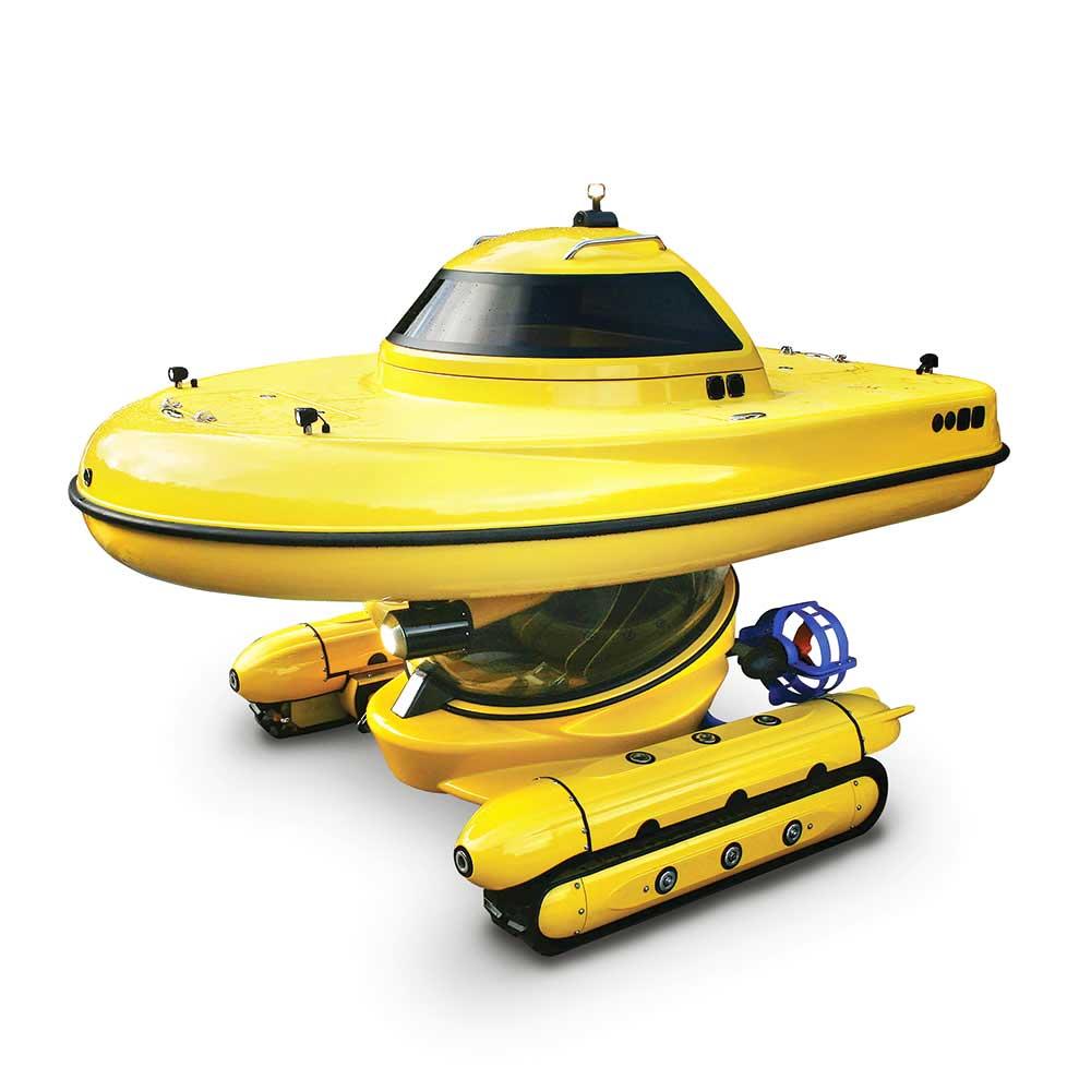 Watercraft voor in het water en voor op het land