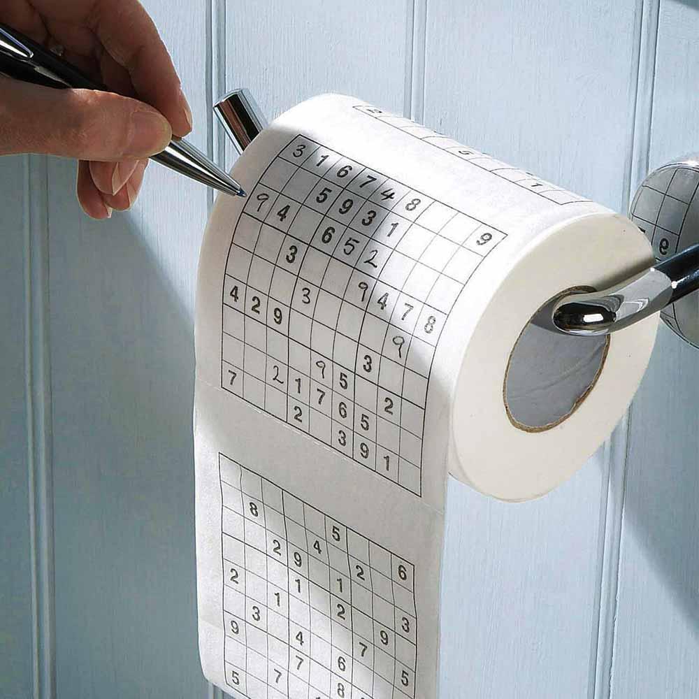Sudoku Toiletpapier | Megagadgets