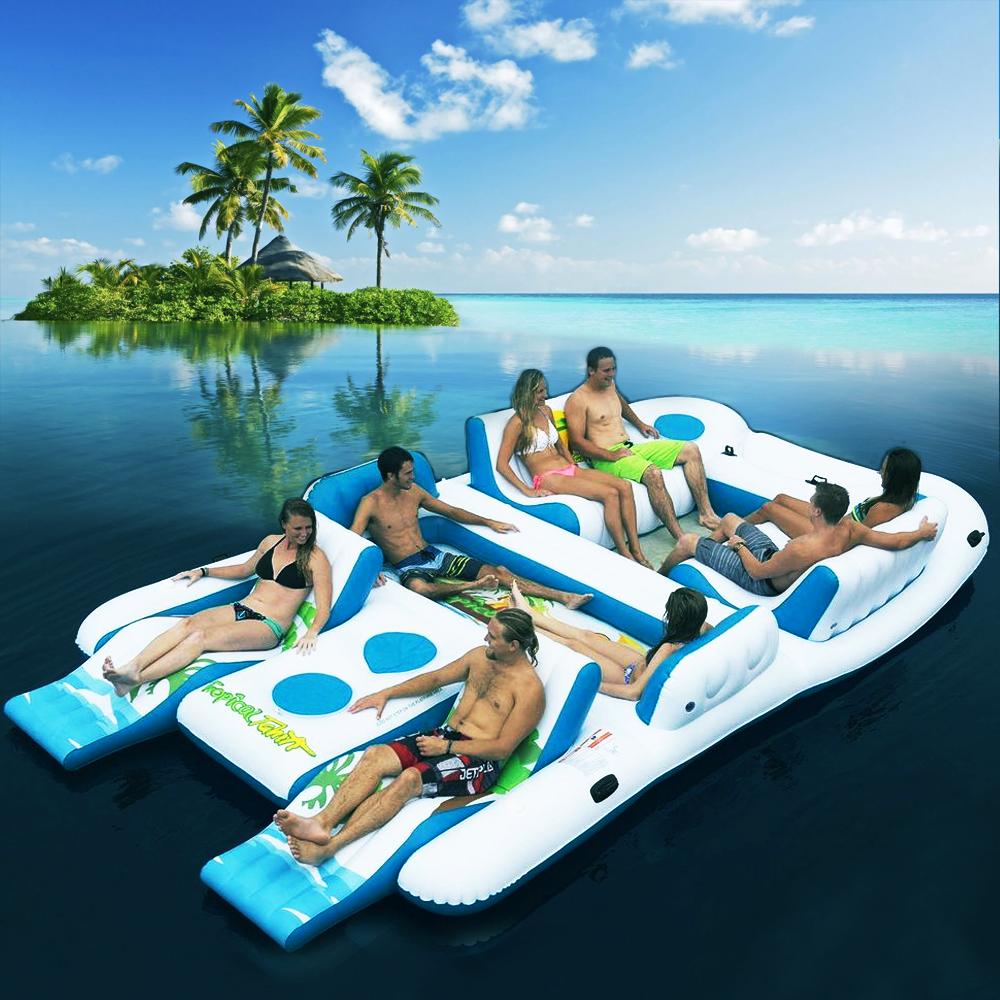 Tropical Tahiti Floating Island