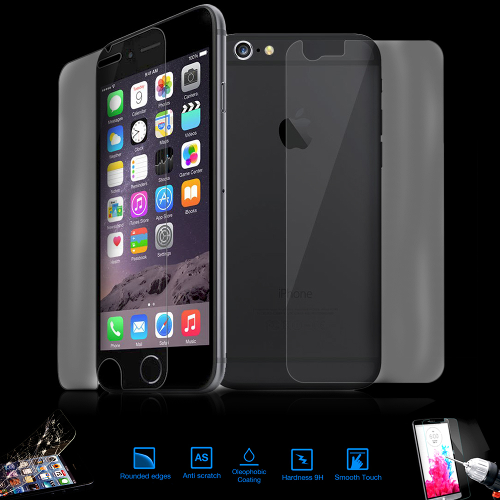 9h Tempered Glass Screen protector - iPhone 6 Back