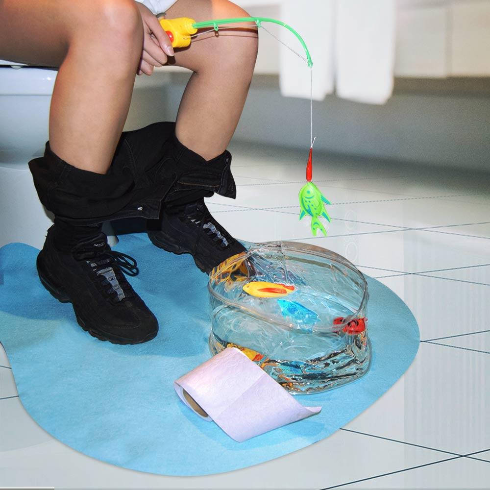 Toilet Vissen