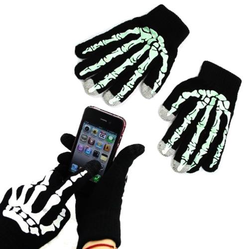 Touchscreen skeleton gloves de leukste touchscreen handschoenen