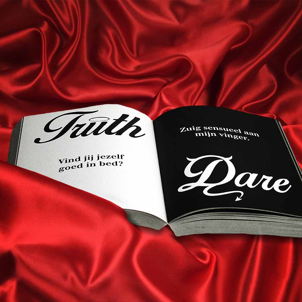 Truth or Dare boek - Naughty