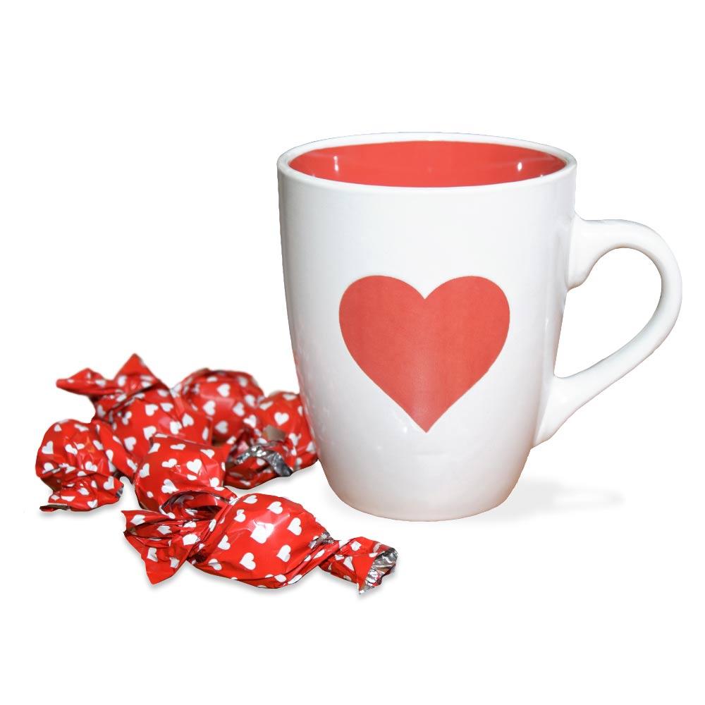 Verras je liefde met een liefdes mok!
