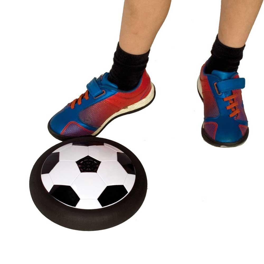 De Air Powered Soccer maakt van elke ruimte een voetbalveld