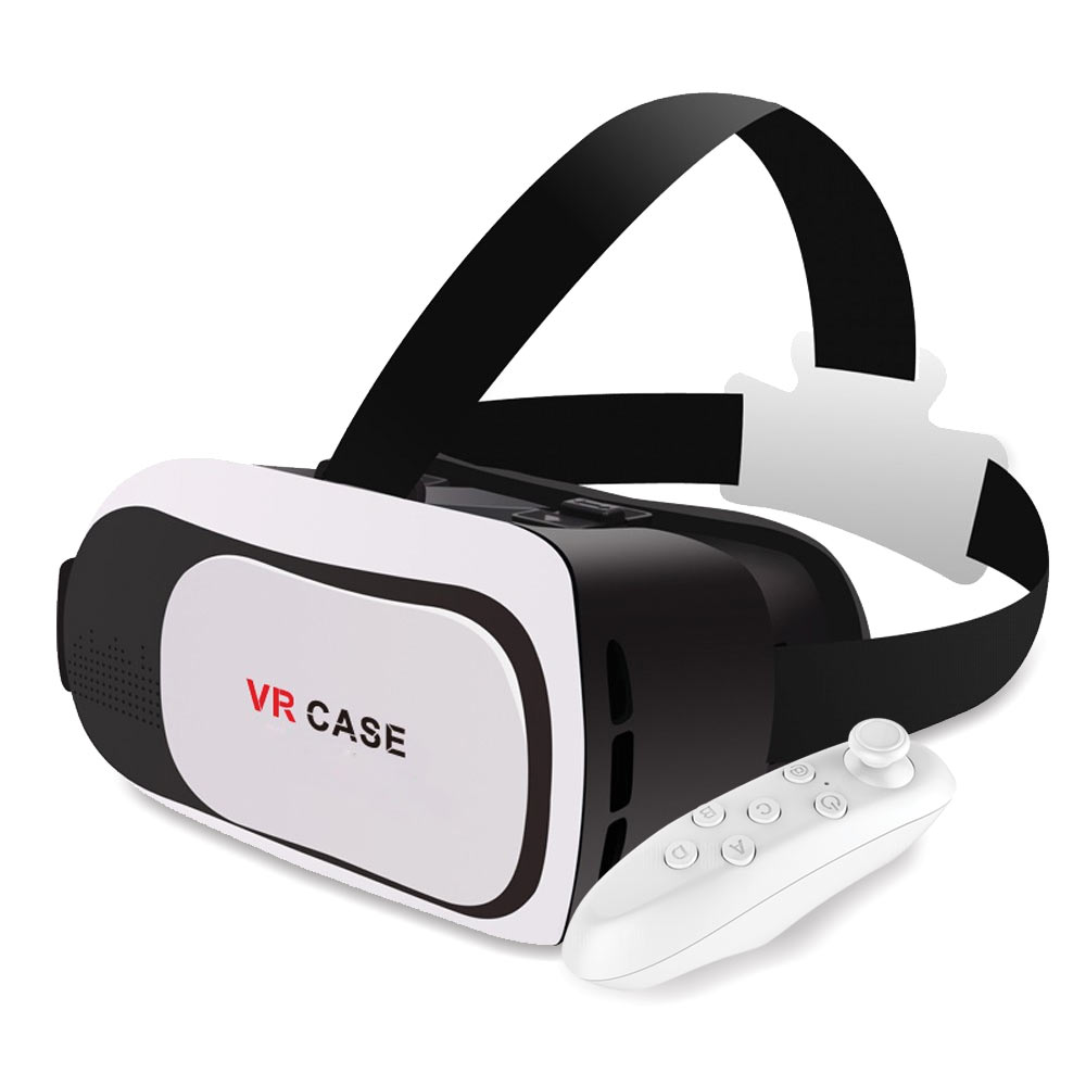 virtual reality box headset met bluetooth afstandbediening