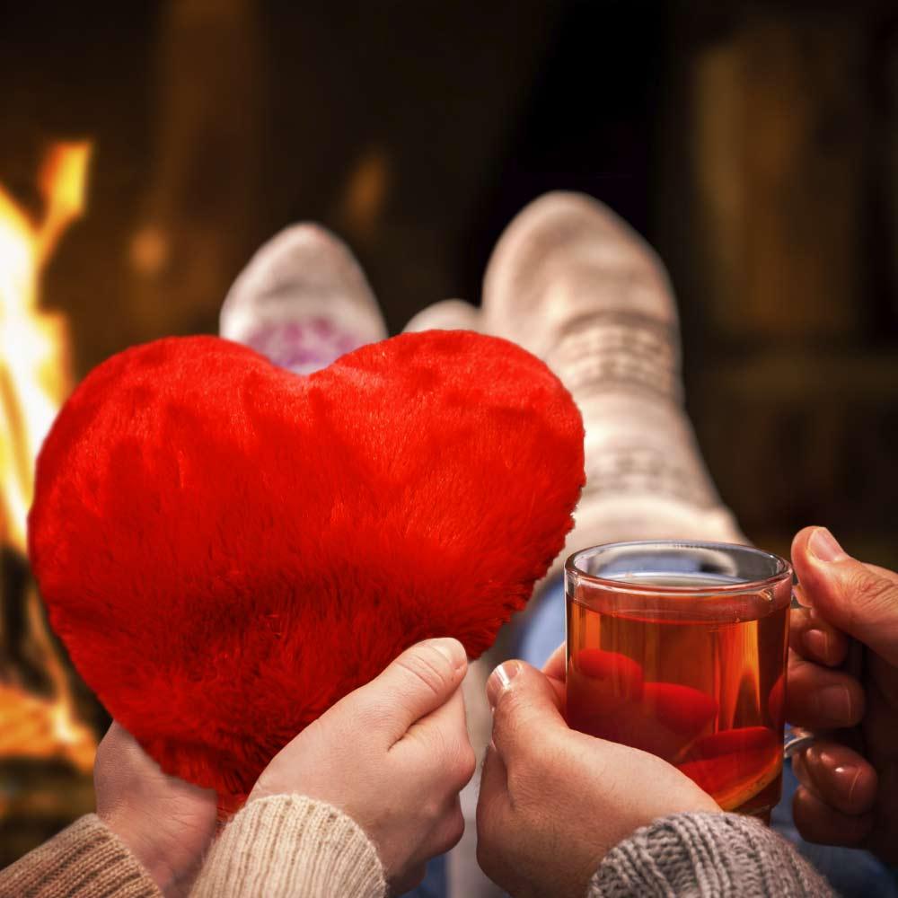 Dagaanbieding - Groot hart kussen dagelijkse aanbiedingen