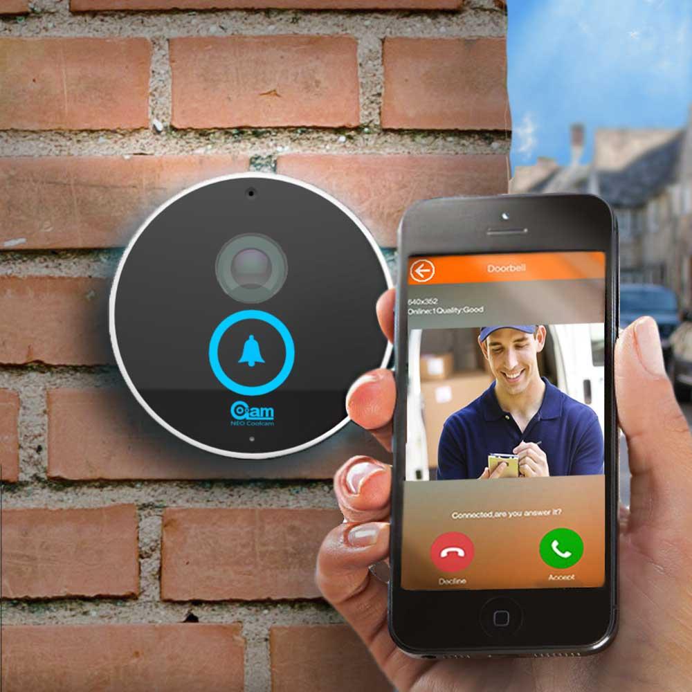 Dagaanbieding - Wifi Deurbel met camera dagelijkse aanbiedingen