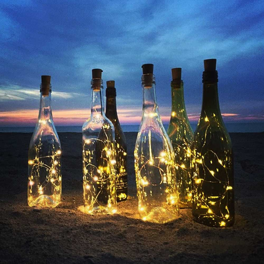 Image of LED Verlichting Fles - Bottle Cap Lights