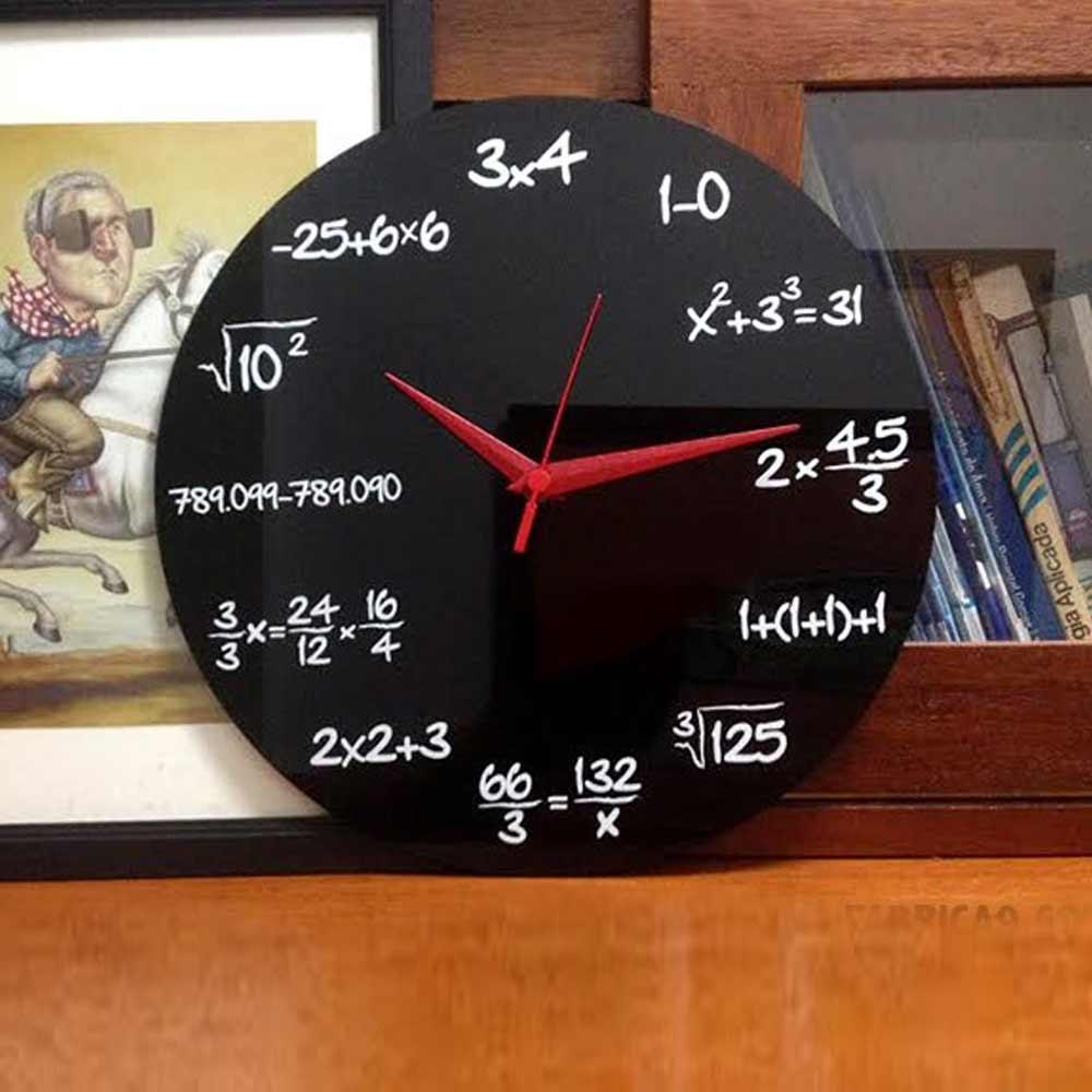 Wiskunde Klok | Megagadgets
