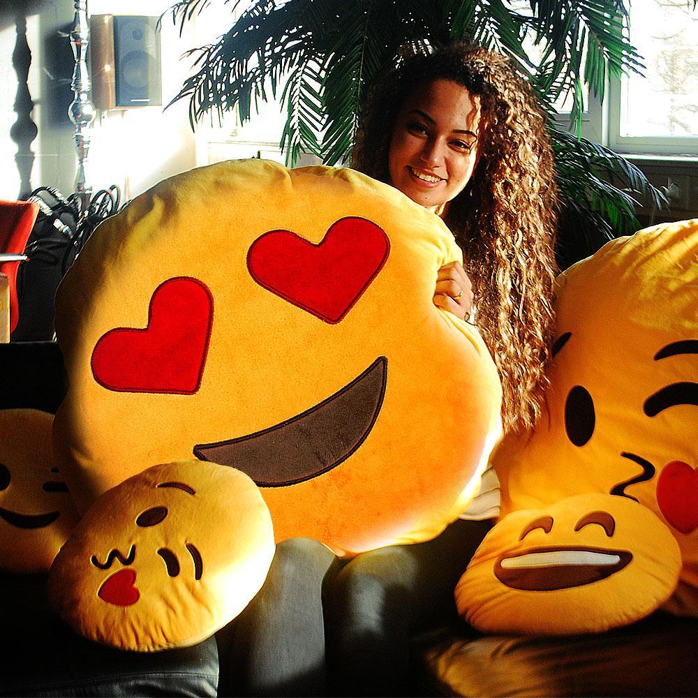 Dagaanbieding - Emoji kussens XXL dagelijkse aanbiedingen