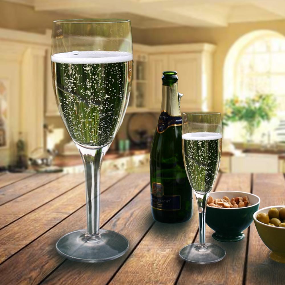 Dagaanbieding - Giant Champagne Glass dagelijkse aanbiedingen