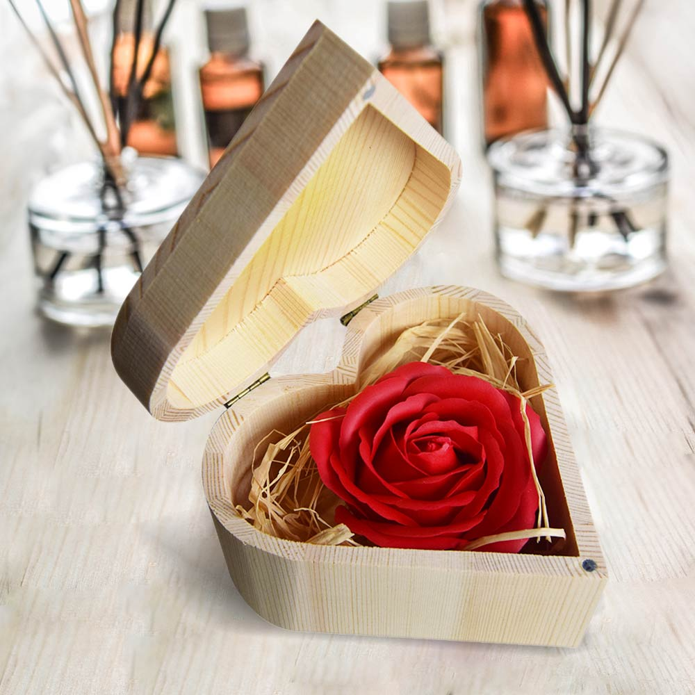 Dagaanbieding - Zeep Roos Gift Box dagelijkse aanbiedingen