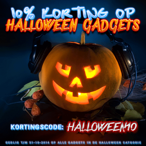 10% korting op de hele Halloween categorie!
