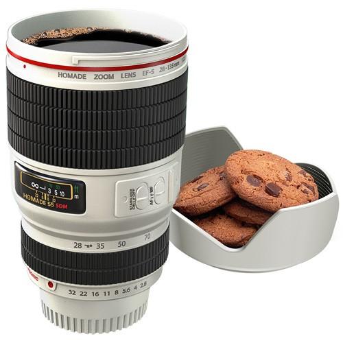 Camera Lens Mug de leukste mok voor een fotograaf