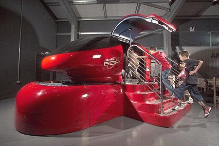 Morphis 3D, futuristische capsule