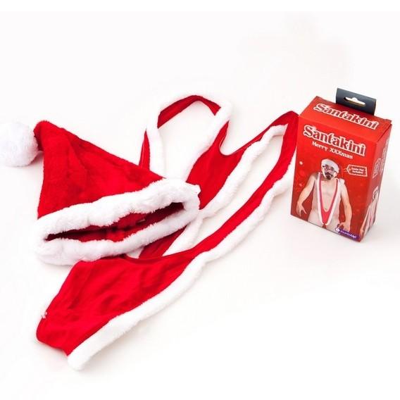 Santakini de mankini voor tijdens kerst