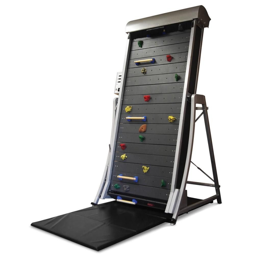The Climbing Wall Treadmill, omdat het gewoon super vet is als Miljonairs gadgets