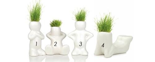 Grass Doll Heads , maken jouw woonkamer een stuk gezelliger