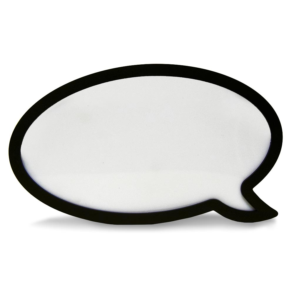 Speech Bubble Lightbox