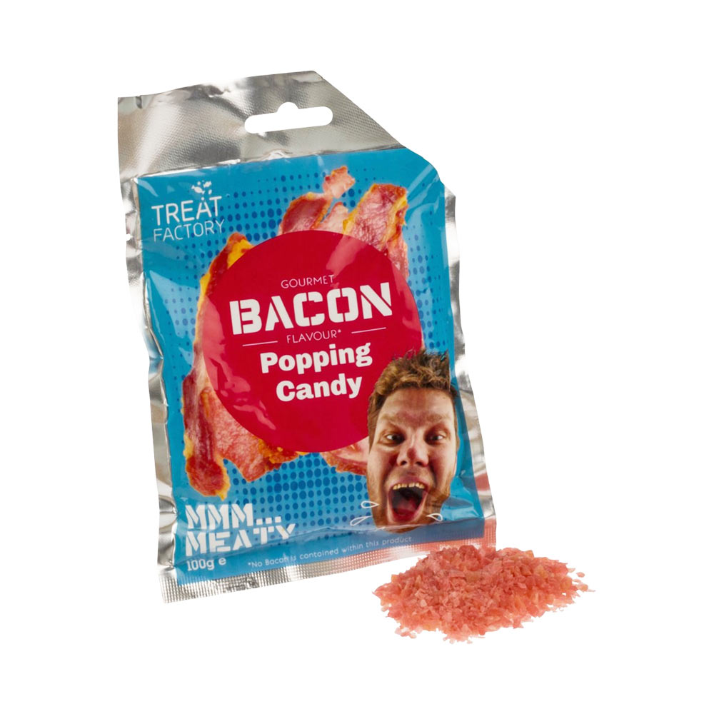 Pop Rocks Knettersnoep Bacon
