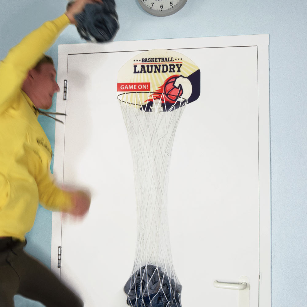 Basketbal Wasmand
