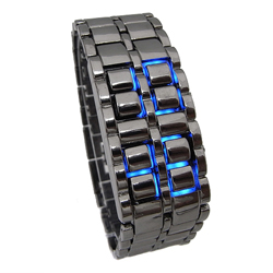 Iron Samurai Watch Original -  is een perfect Japans LED horloge!