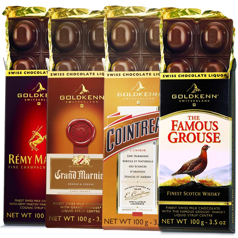 Liquor Chocolate Bar
