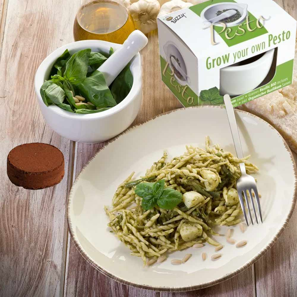 Vijzel Pesto Set